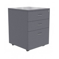 Logic Mobile Pedestal 2 Draw + 1 File - Lockable