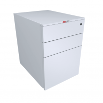 Austfile Metal Mobile 2 File Draw Pedestal - Lockable