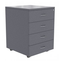 Logic Mobile 4 Draw Pedestal - Lockable