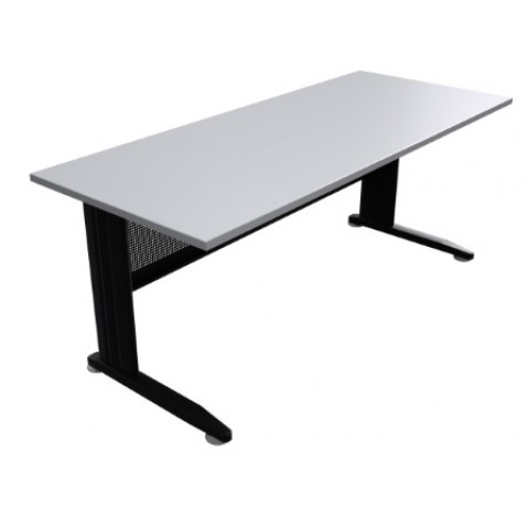 C Space Desk Black frame white top