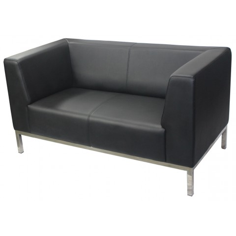 2 seater reception lounge Black Brisbane Gold Coast