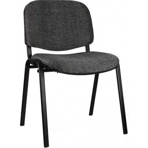 padded seat and back visitors chair