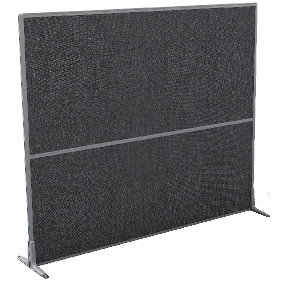 Logic Full Height Fabric Screens - 1250mmH