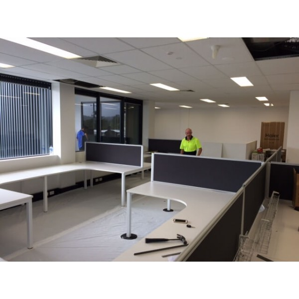 Strata Fitout screens and tops on