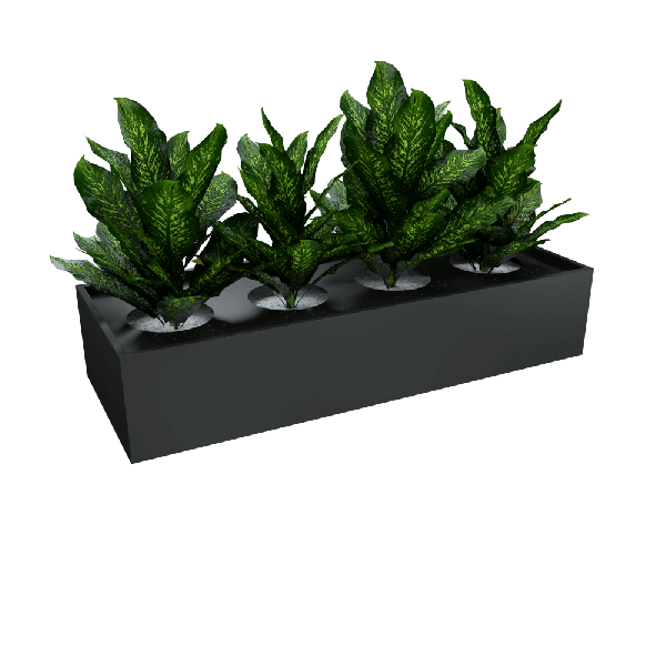 Planter for Tambour Black