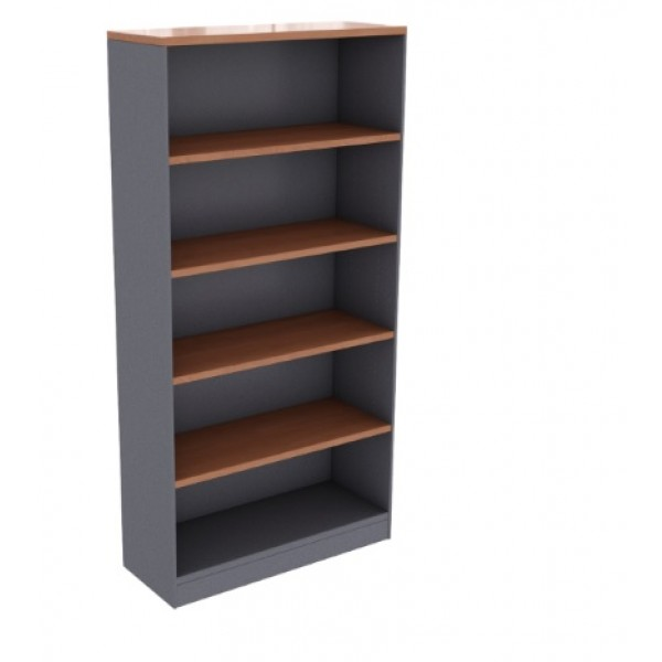 Cherry Ironstone Bookcase