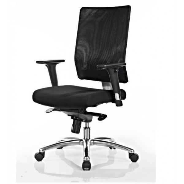 Cleo Mesh back chair with arms