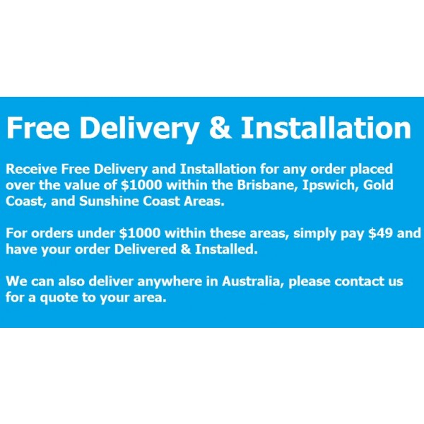 Delivery and Install Promo