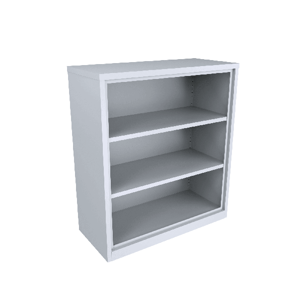 Steel Bookcase 2 x adjustable shelves