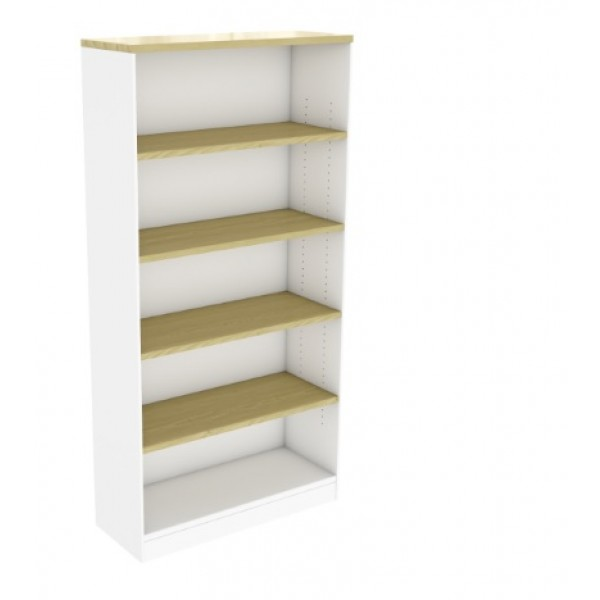 Maple White Bookcase