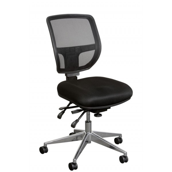 Miami Task Chair Chrome base
