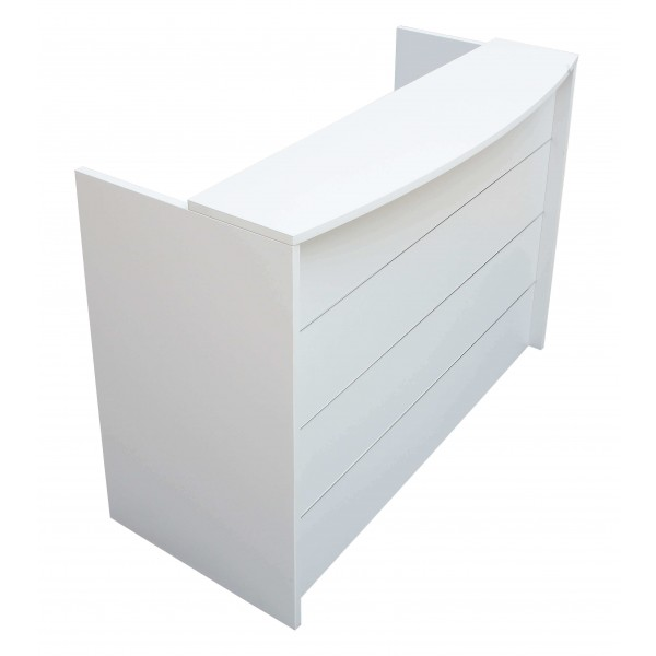 Reception Counter White Quick Delivery