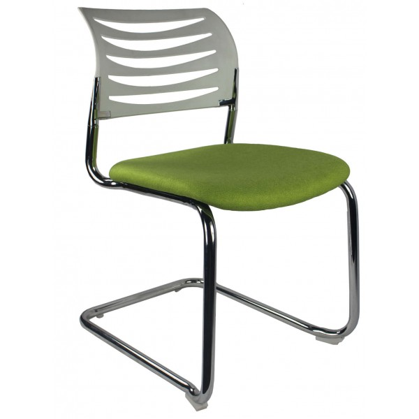 White back green seat Visitor chair Gold Coast Brisbane