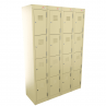 4 Door Bank of 4 - Beige
