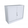 White 1200Wx1200h Tambour Logic Interiors