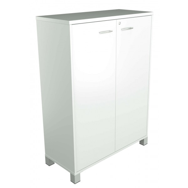 1250H Hinged Door Cupboard White allover Strata Logic Interiors