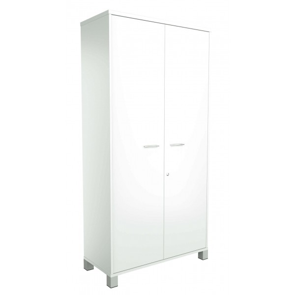 Strata Storage Cupboard White allover 1800H